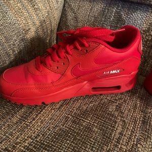 Red Air Max's